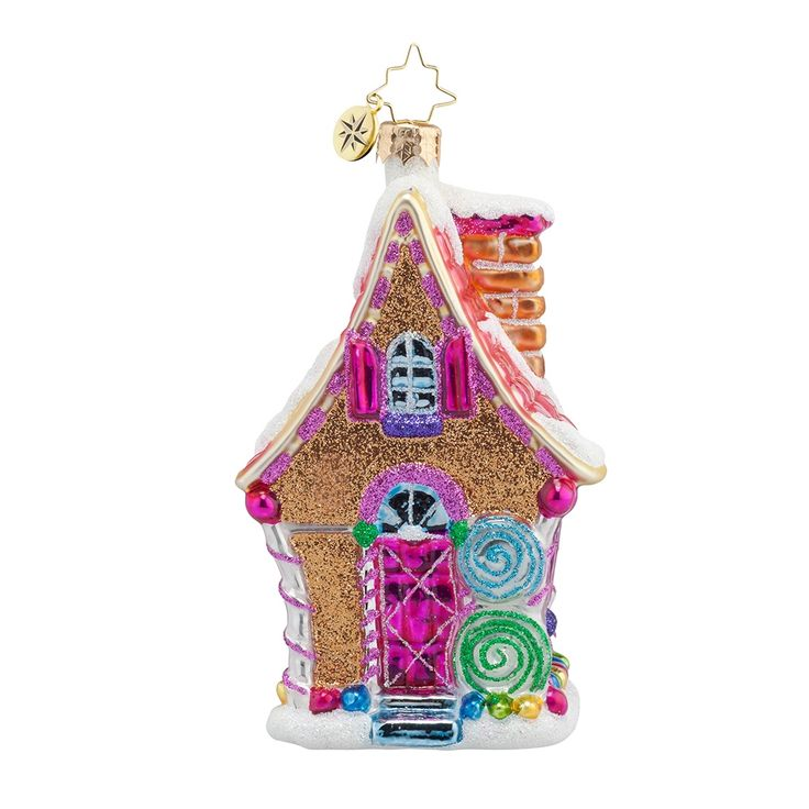 Christopher Radko Ornaments 2015 | Radko Sugary Chateau Ornament