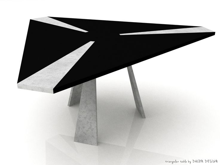 Triangular table