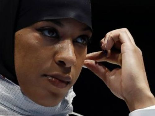 Muhammad First US Athlete to Wear Hijab at an Olympics   ABC News   August 09, 2016