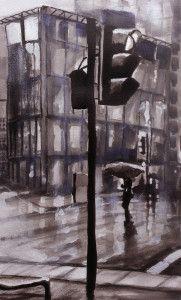 'Rainy Street 2' by Paul Mitchell