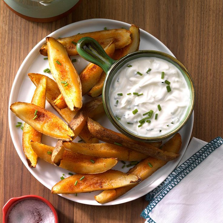 Savory Potato Skins Recipe -For a simple hot snack that really hits the spot on a cool fall evening, put together a plate of these crisp potato skins. —Andrea Holcomb, Torrington, Connecticut