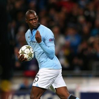 Mario Balotelli, Man. City | Man. City 1-1- Borussia. 03.10.12.