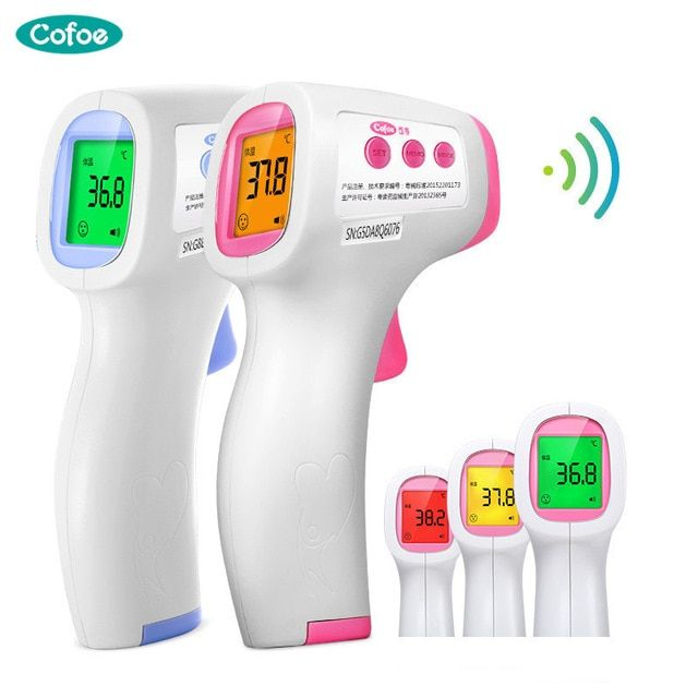 Thermometer No contact Digital Infrared IR Medical Temperature Meter for Fever