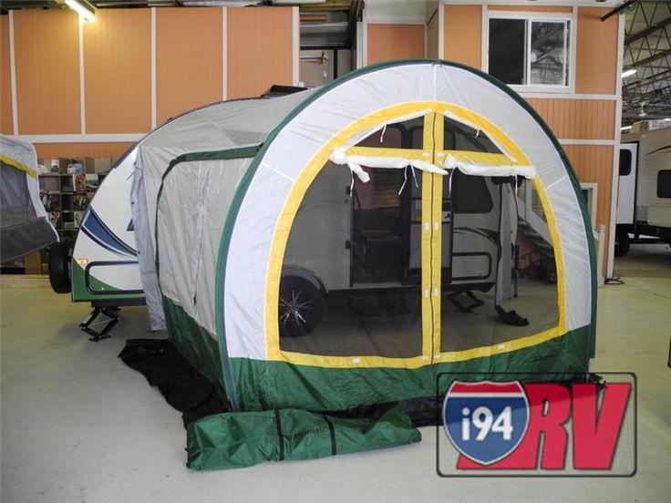 R Pod Tear Drop Travel Trailer Tent Attachment I94rv