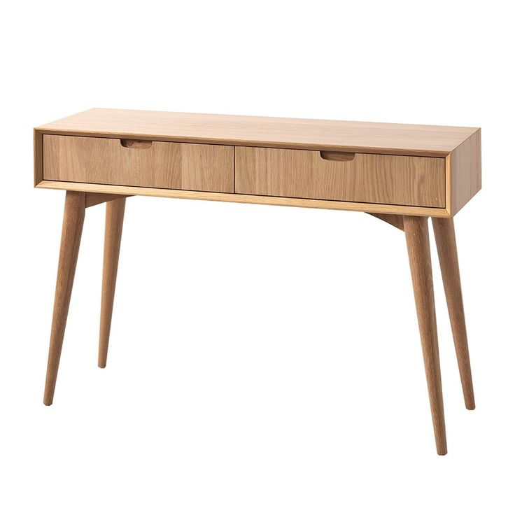 Danish Style Console - Oak Town - Temple & Webster presents