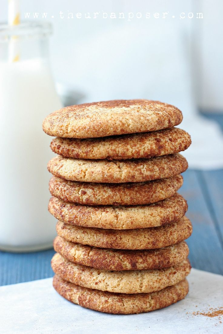 Snickerdoodles: 2 cups blanched, fine ground almond flour,  A scant less than 1/4 teaspoon salt,  1/4 teaspoon baking soda (1/3 tsp if you want them a little 'puffier'),  1/4 cup coconut oil,  1/4 cup honey,  1 tablespoon GF vanilla extract
