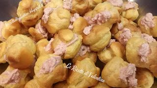 Le Ricette di Valentina: Bignè salati alla mortadella...pasticceria salata ...