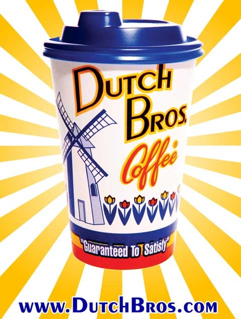 possible topic: The Actual Dutch Brothers from GP, the history of the company and the bold business tactics, and maybe follow a path from coffee plantation to cup? (simplified)