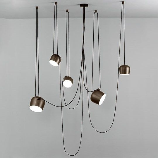 AIM: Discover the Flos suspended lamp model AIM