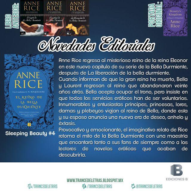 """""""El Reino de la Bella Durmiente"""" (Sleeping Beauty #4) deA.N. Roquelaure"""