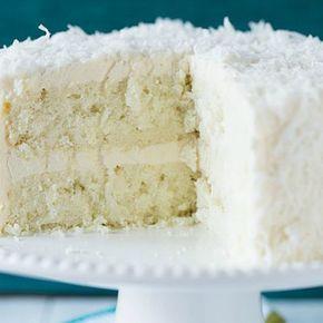 Coconut Vanilla Bean Cake With Coconut Meringue Buttercream Frosting Recipe