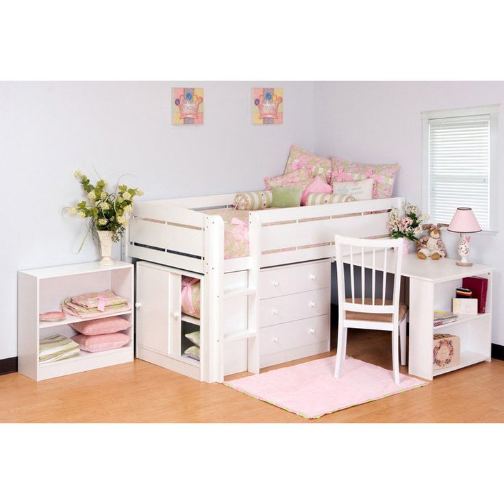Canwood whistler junior loft bed collection furnish your for Junior bunk bed