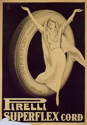 Anno: 1922 Soggetto: Pirelli Superflex Cord Pubblicazioni: Stampa Star –IGAP, Milano Provenienza: Raccolta Pirovano, Segrate (MI) Note: Ripr...