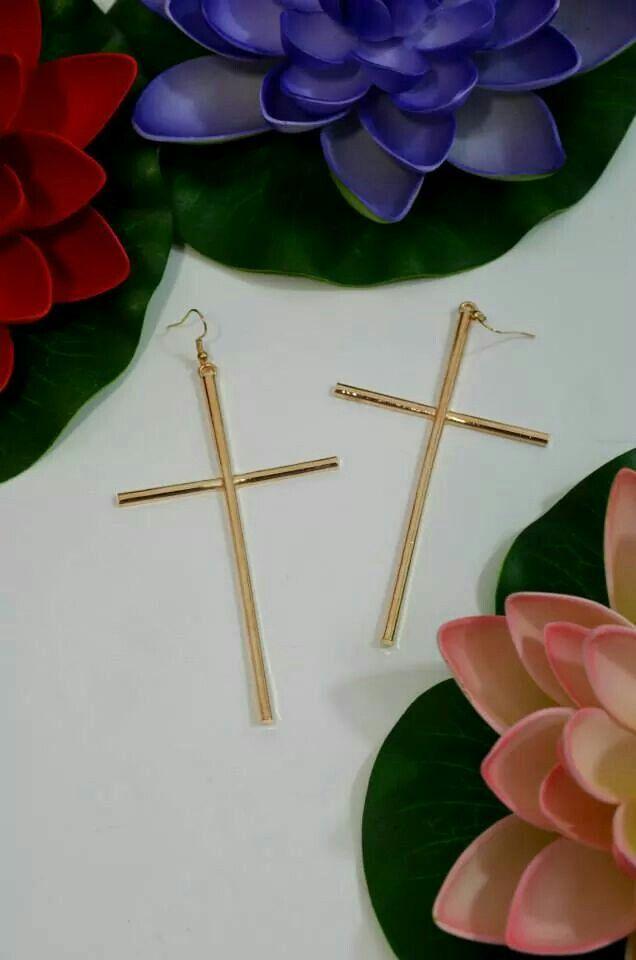 Simple Croix Earings