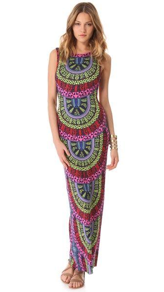 Mara Hoffman Slit Back Column Dress- shopbop.com