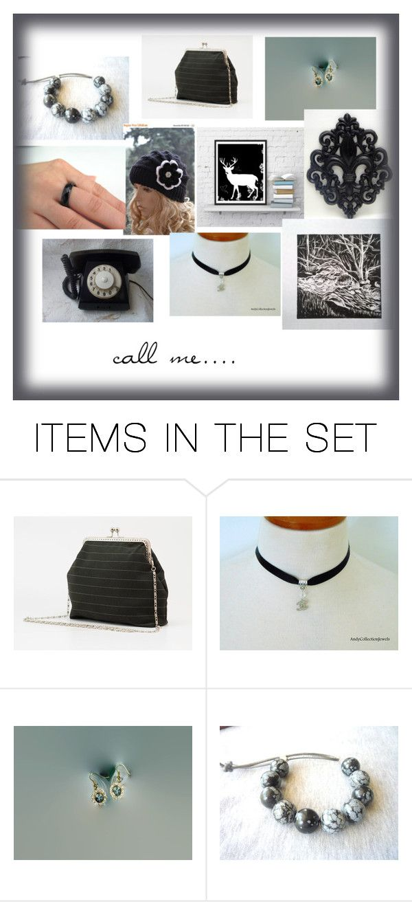 Call me ... by shushahandmade on Polyvore featuring art