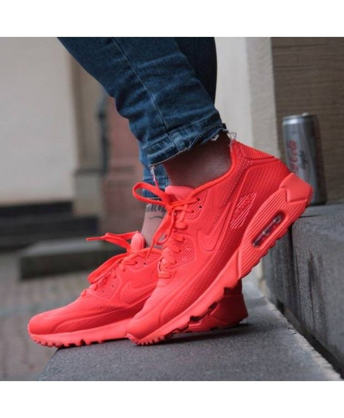 5a6791d00ef1 Nike Air Max 90 Ultra Moire All Bright Pink Shoes Sale