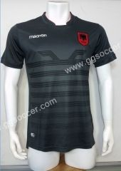 2016-17 European Cup Albania Black Thailand Soccer Jersey