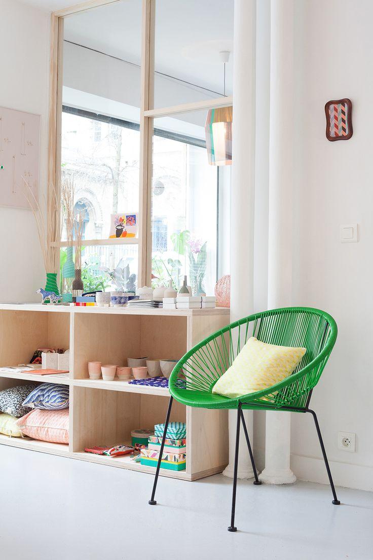 Klin d'œil shop in Paris designed by Heju