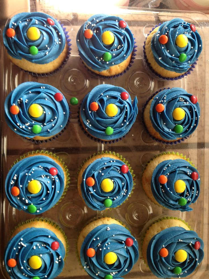 Solar system, Solar and Cupcake on Pinterest