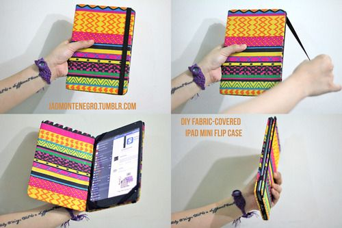 ipad mini case diy