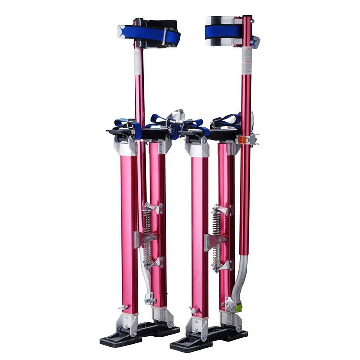 "Pentagon Tool Professional 24""-40"" Red Drywall Stilts Highest Quality"