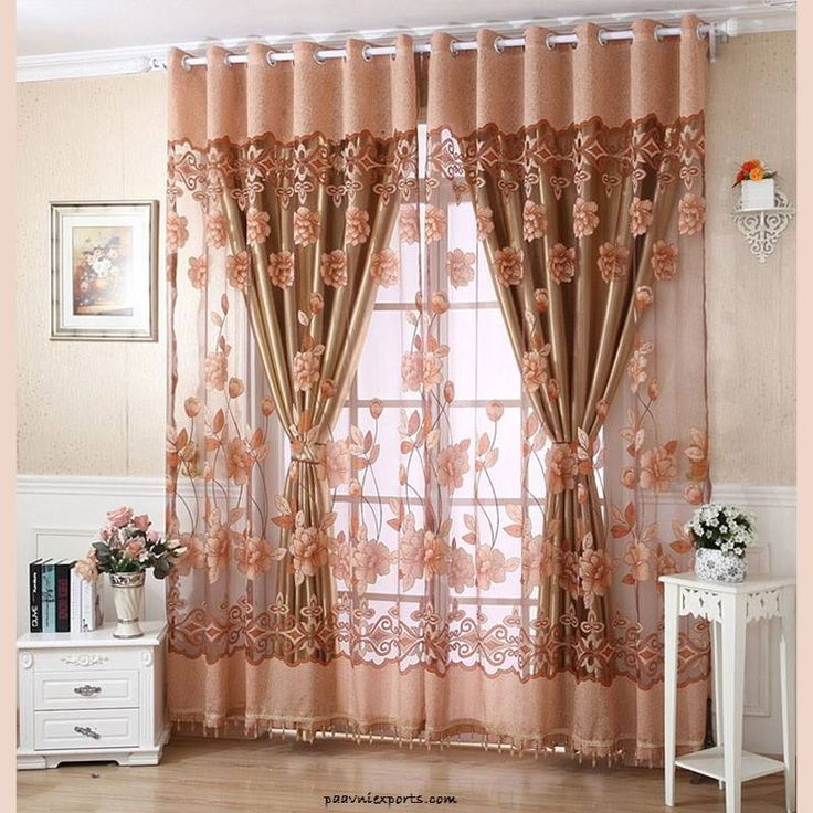 Best 25+ Peach curtains ideas on Pinterest | Sunroom curtains ...