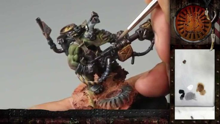 """PBCC 001 """"Ork Burna Boy"""" Part 3: Painting awesome free-hand oven-gloves :D"""