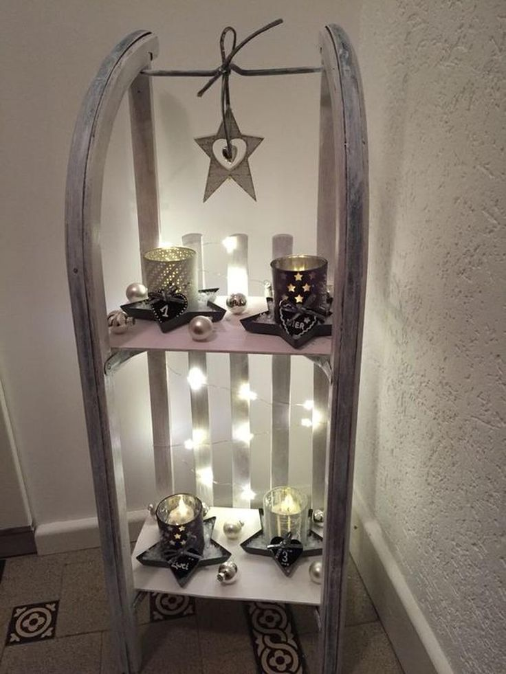 25 unieke idee n over winter decoraties op pinterest - Lichterkette wohnzimmer ...