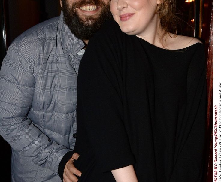 After months of speculation, Adele confirmed at the Grammys that she is married to her long-term boyfriend Simon Konecki. | Adele Spoke About Falling For Her Husband And It's Cute As Hell