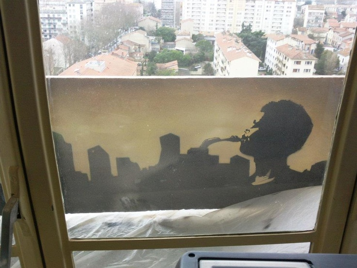 Deco peinture murale graff balcon - Deco peinture murale ...