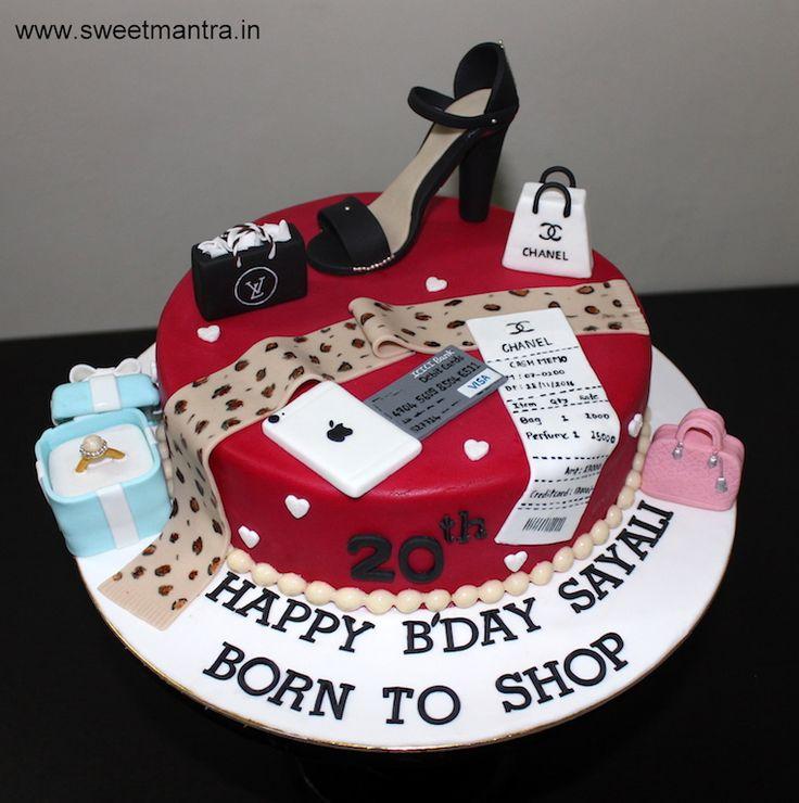 Birthday Cake Designer Bags