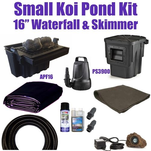 15' x 20' Small Koi Pond Kit - SA0