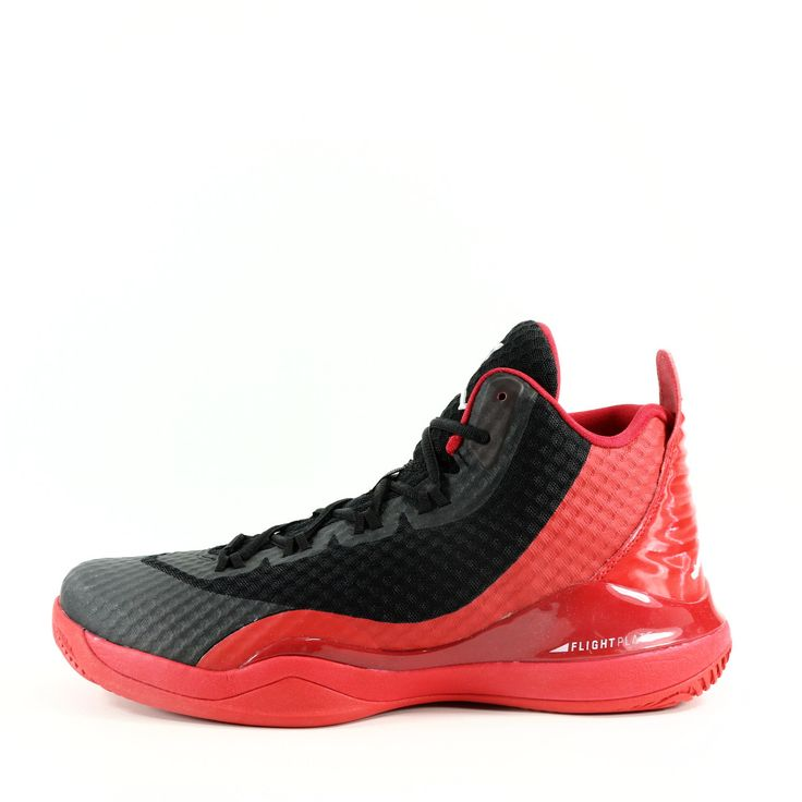 NIKE Air Jordan Super.Fly 3 PO Basketball Shoes (University Red/Black)
