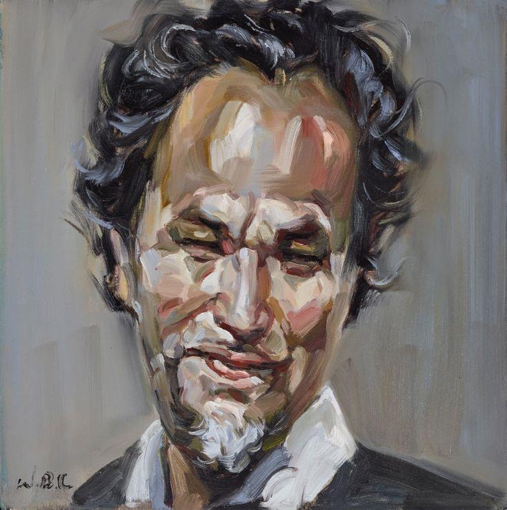 Wei Bin Chen: The artist ‒ self-portrait no 6 :: Archibald Prize 2015 :: Art Gallery NSW