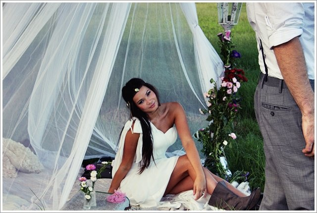 Behind the scenes Milque Photography Bridal Shoot