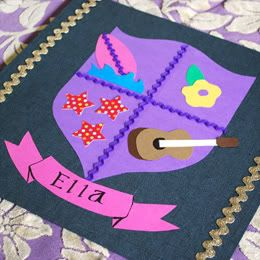 Royally fun crafts for kids | The Domestic Buzz  Instructions here, but I can't pin from this site  http://family.go.com/crafts/craft-1000413-coat-of-arms-t/
