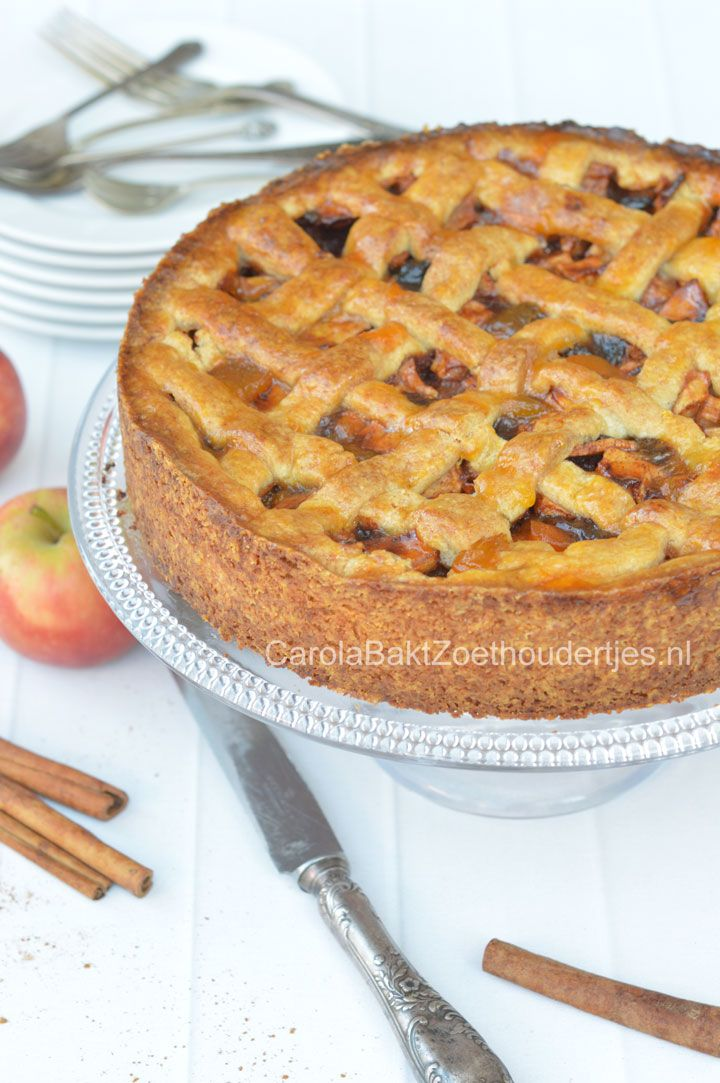 Oma's oud Hollandse appeltaart