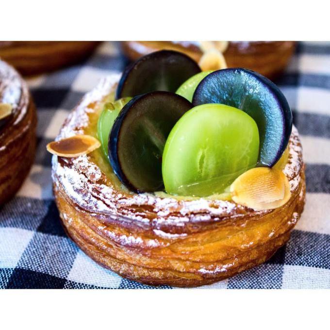 オパンのブドウのデニッシュ(2016.09.21) | OPAN オパン|東京 笹塚のパン屋