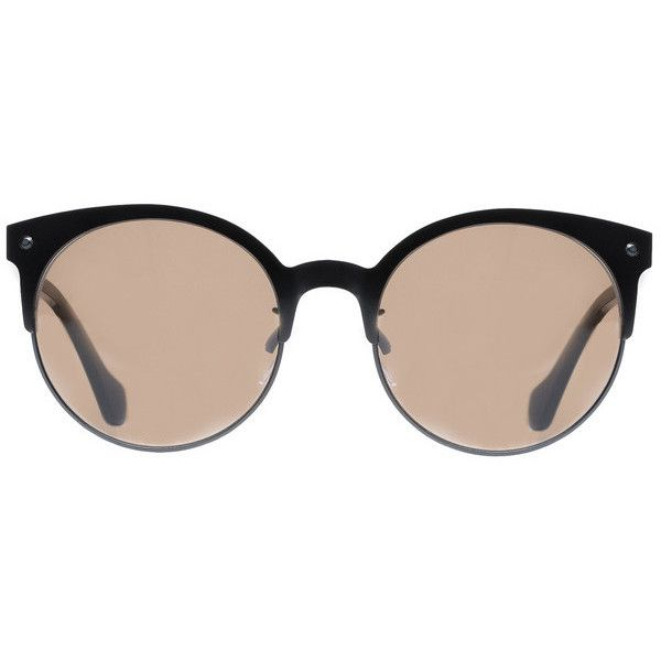 BALENCIAGA Sunglasses ($385) ❤ liked on Polyvore featuring accessories, eyewear, sunglasses, balenciaga, balenciaga eyewear, balenciaga sunglasses and balenciaga glasses