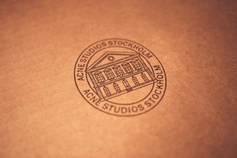 Acne Studios Stockholm  #logo, #identity, #brand, #corporate, #design