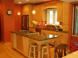 Marvelous Amish Custom Kitchens   Traditional