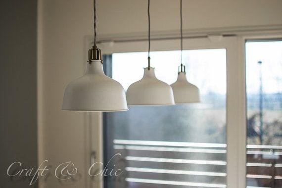 Lampadario a soffitto con tre lampade a di CraftAndChic su Etsy
