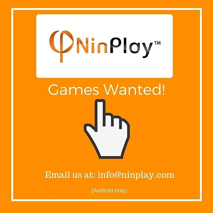 Interested in having your game on the NinPlay platform? Click the link to find out more. http://ninplay.com/