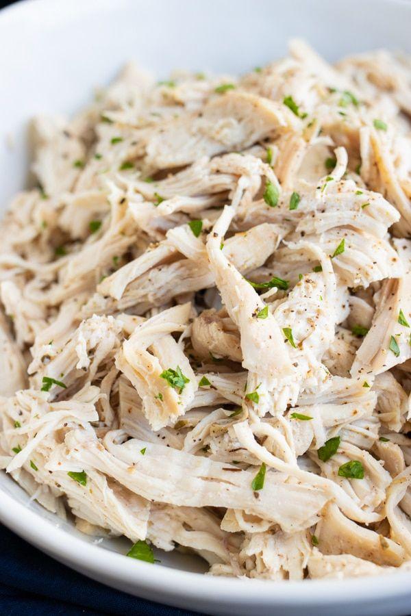 Instant Pot Shredded Chicken Pulled Chicken Recipe Evolving Table Recipe Instant Pot Recipes Chicken Slow Cooker Shredded Chicken Chicken Recipes