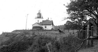 Original Goderich Lighthouse, Goderich, Ontario #Goderich #RediscoverGoderich #VintageGoderich