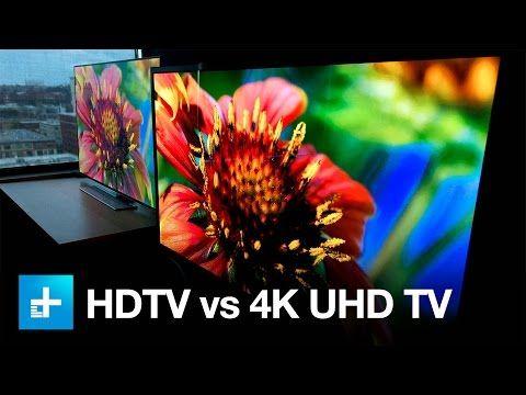 4K UHD TV vs. 1080p HDTV - Side by Side Comparison - YouTube