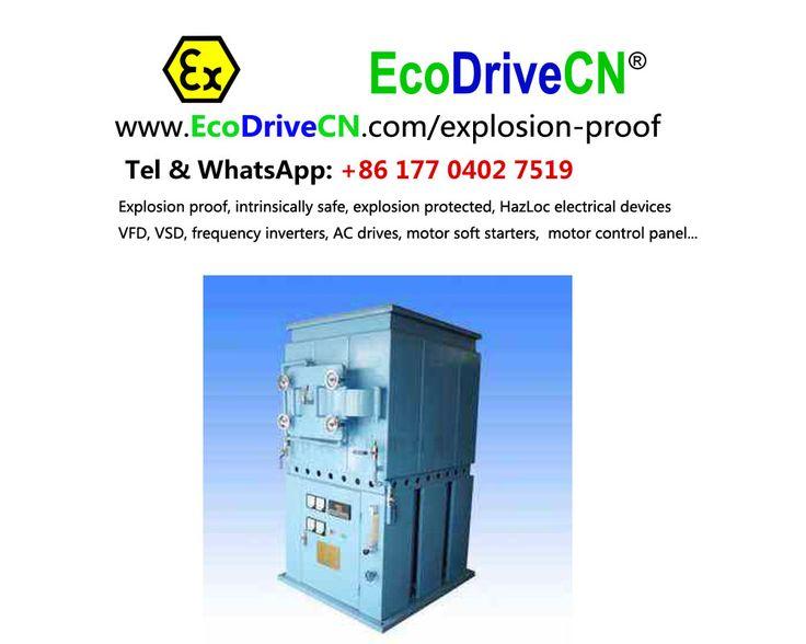 EcoDriveCN® explosion proof motor soft starters, explosion protected motor softstarters, HazLoc soft starters, flameproof motor soft start. www.EcoDriveCN.com/explosion-proof