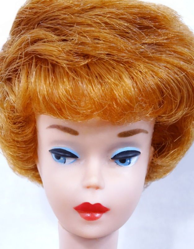 Beautiful Vintage Redhead Bubble Cut Barbie Doll MINT