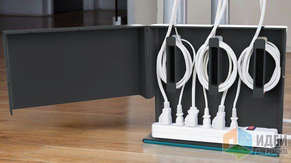 Как спрятать провода?